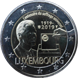 Commemorative Euro coin visual: Luxembourg 2019, 100 years of Universal Suffrage in Luxembourg