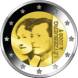 Commemorative Euro coin visual: Luxembourg 2009, 90th Anniversary of Grand Duchess Charlotte's Accession to the Throne