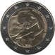 Commemorative Euro coin visual: Malta 2014, Independence from Britain in 1964 - Fourth of the Constitutional History series