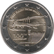 Commemorative Euro coin visual: Malta 2015, 100 years since the first flight from Malta