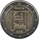 "Commemorative Euro coin visual: Malta 2018, Cultural heritage - Third of the ""from children in solidarity"" series"