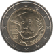 Commemorative Euro coin visual: Portugal 2017, 150 years since the birth of Raul Brandão