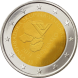 Commemorative Euro coin visual: Slovakia 2011, 20th Anniversary of Foundation of the Visegrád Group