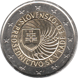 Commemorative Euro coin visual: Slovakia 2016, Slovak Presidency of the Council of the European Union