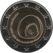 Commemorative Euro coin visual: Slovenia 2013, 800 years since the discovery of the Postojna Cave