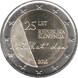 Commemorative Euro coin visual: Slovenia 2016, 25 years of independence