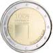 Commemorative Euro coin visual: Slovenia 2019, 100 years since the foundation of the University of Ljubljana