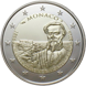 Commemorative Euro coin visual: Monaco 2016, 150th anniversary of the founding of Monte Carlo by Charles III