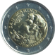Commemorative Euro coin visual: San Marino 2018, 500 years since the birth of Tintoretto
