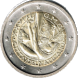 Commemorative Euro coin visual: Vatican 2011, 26th World Youth Day in August 2011