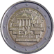 Commemorative Euro coin visual: Vatican 2014, 25 years since the Fall of the Berlin Wall
