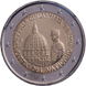 Commemorative Euro coin visual: Vatican 2016, 200th anniversary of Corps of Gendarmerie of Vatican City