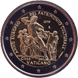 Commemorative Euro coin visual: Vatican 2018, European Year of Cultural Heritage