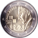 Commemorative Euro coin visual: Estonia 2016, 100 years since the birth of Paul Keres