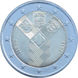 Commemorative Euro coin visual: Estonia 2018, 100 years since independence - common commemorative coin with Latvia and Lithuania