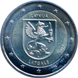 "Commemorative Euro coin visual: Latvia 2017, Latgale - Third of the ""Regions"" series"