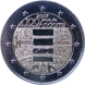 Commemorative Euro coin visual: Andorra 2017, 100 years of the anthem of Andorra