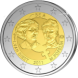 Commemorative Euro coin visual: Belgium 2011, 1st Centenary of the International Women's Day