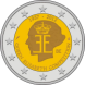 Commemorative Euro coin visual: Belgium 2012, 75th Anniversary of the Queen Elisabeth Music Competition