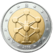 Commemorative Euro coin visual: Belgium 2006, Renovation of the Atomium in Brussels