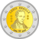 Commemorative Euro coin visual: Belgium 2009, 200th Birthday of Louis Braille