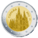 Commemorative Euro coin visual: Spain 2012, Burgos Cathedral - Third of the UNESCO World Heritage Sites series
