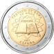 Commemorative Euro coin visual: Spain 2007, 50th Anniversary of the Signature of the Treaty of Rome