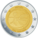 Commemorative Euro coin visual: Spain 2009, Ten years of Economic and Monetary Union (EMU) and the birth of the euro