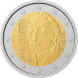 Commemorative Euro coin visual: Finland 2012, 150 Years Helene Schjerfbeck