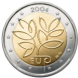 Commemorative Euro coin visual: Finland 2004, Fifth Enlargement of the European Union in 2004