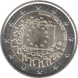 Commemorative Euro coin visual: Finland 2015, 30th anniversary of the Flag of Europe