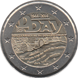 Commemorative Euro coin visual: France 2014, 70 years since D-Day