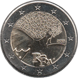 Commemorative Euro coin visual: France 2015, 70 years of peace in Europe