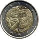 Commemorative Euro coin visual: France 2017, 100 years since the death of Auguste Rodin