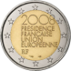 Commemorative Euro coin visual: France 2008, French Presidency of the Council of the European Union