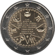 Commemorative Euro coin visual: Greece 2014, 150th anniversary of the Union of the Ionian Islands with Greece
