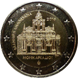 Commemorative Euro coin visual: Greece 2016, 150 years since the Arkadi Monastery torching